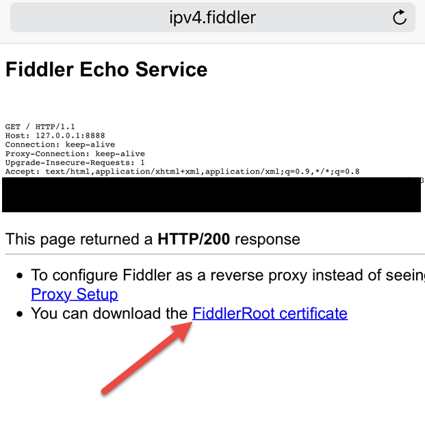 Setting up Fiddler to debug analytics requests from iOS